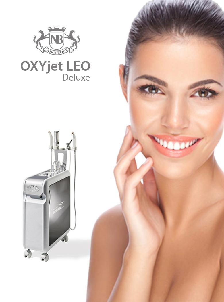tratamente faciale - oxyjet leo - tratament facial cu oxigen
